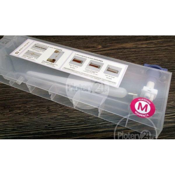 CISS PRO 4 kasety 440 ml + butle 1L + przewody, wieszak Mimaki Mutoh Roland stałe zasilanie