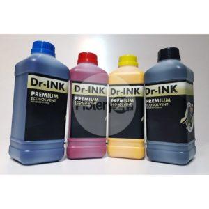 Zestaw startowy 4 L CMYK ecosolvent Dr-INK Premium + Flush w super cenie! Tylko 1 na 1 Klienta!