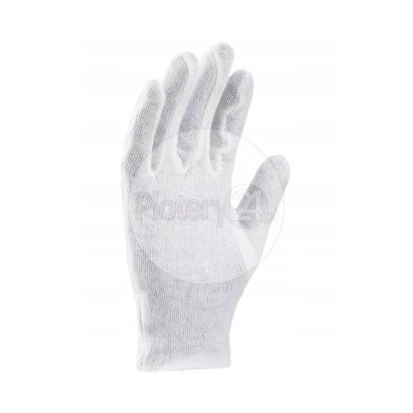 Rękawice do folii mediów - 3 pary (6 sztuk) - 100% bawełna, bezpyłowe, wielokrotnego użytku rękawiczki